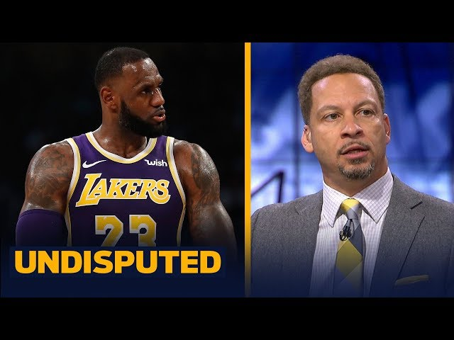 Chris Broussard reacts to LeBron and the Lakers' close win against the Mavs | NBA | UNDISPUTED