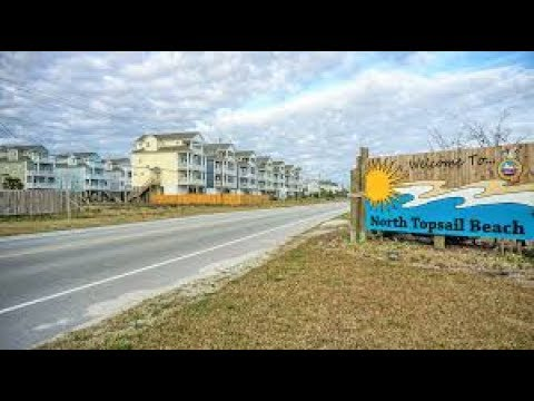 Beach erosion on minds of north topsail beach property for Seaview pier fishing report