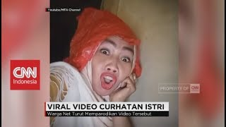 Lucu! Viral Video Curhat Istri