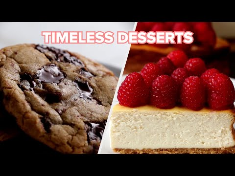 7 Timeless Desserts • Tasty Recipes