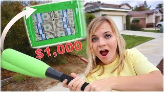 DESTROY The UNBREAKABLE Box, WIN ,000 CASH! *IMPOSSIBLE CHALLENGE*