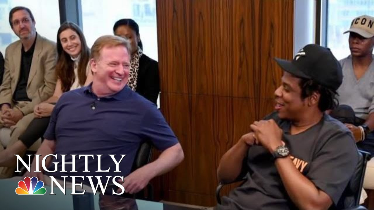 Jay-Z Deal With NFL To Include Entertainment Ventures, Social Activism Campaign | NBC Nightly News