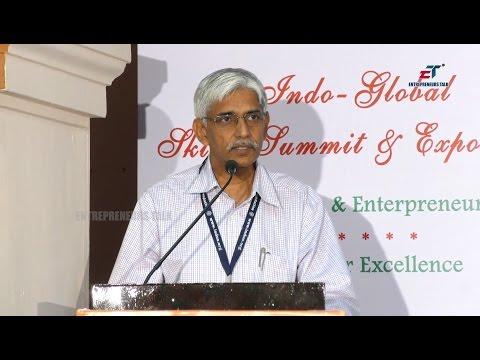 Dr Subba Rao Ghanta At Indo Global Education Skills Summit 2017
