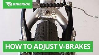 How to Adjust V-Brakes