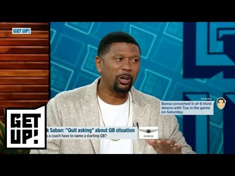 Jalen Rose's advice to Jalen Hurts: Don't allow Alabama to cost you eligibility | Get Up! | ESPN