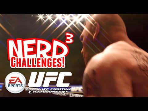 Nerd³ Challenges! KILL GOD - UFC