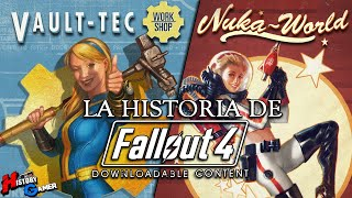 La Historia De Fallout 4 DLC (Vault-Tec Workshop y Nuka World)│ History Gamer