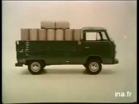 1982 utilitarios volkswagen kombi pick up fourgon youtube. Black Bedroom Furniture Sets. Home Design Ideas