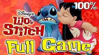 Disney's Lilo and Stitch FULL GAME Movie Longplay (PS1) 100% collectibles