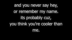 Cooler than me- Mike Posner ft. Big sean with lyrics