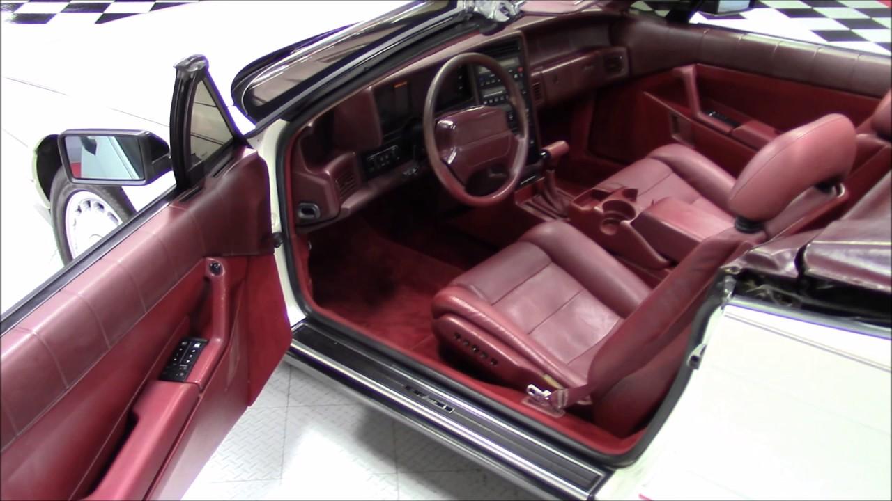 1990 Cadillac Allante Convertible - YouTube