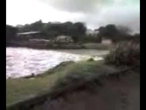 Storm Surge, Tidal wave Raumati South, Kapiti New ...