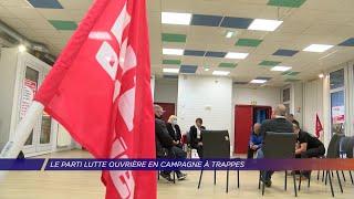 Yvelines   Le parti Lutte ouvrière en campagne à Trappes
