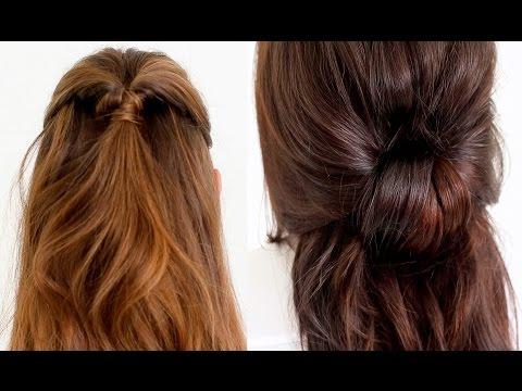 quick & easy school hairstyle