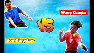 Hou Yingchao vs Wang Chuqin | Battle Of Gods