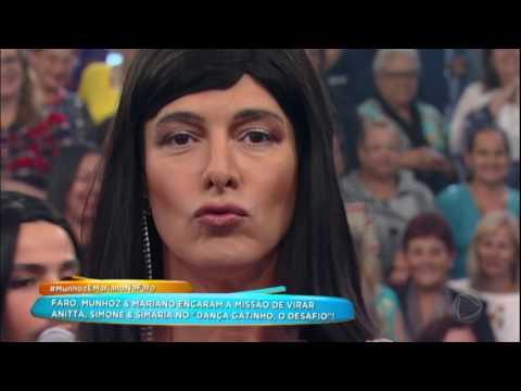 Dança Gatinho: Faro, Munhoz E Mariano Se Transformam Em Anitta, Simone E Simaria