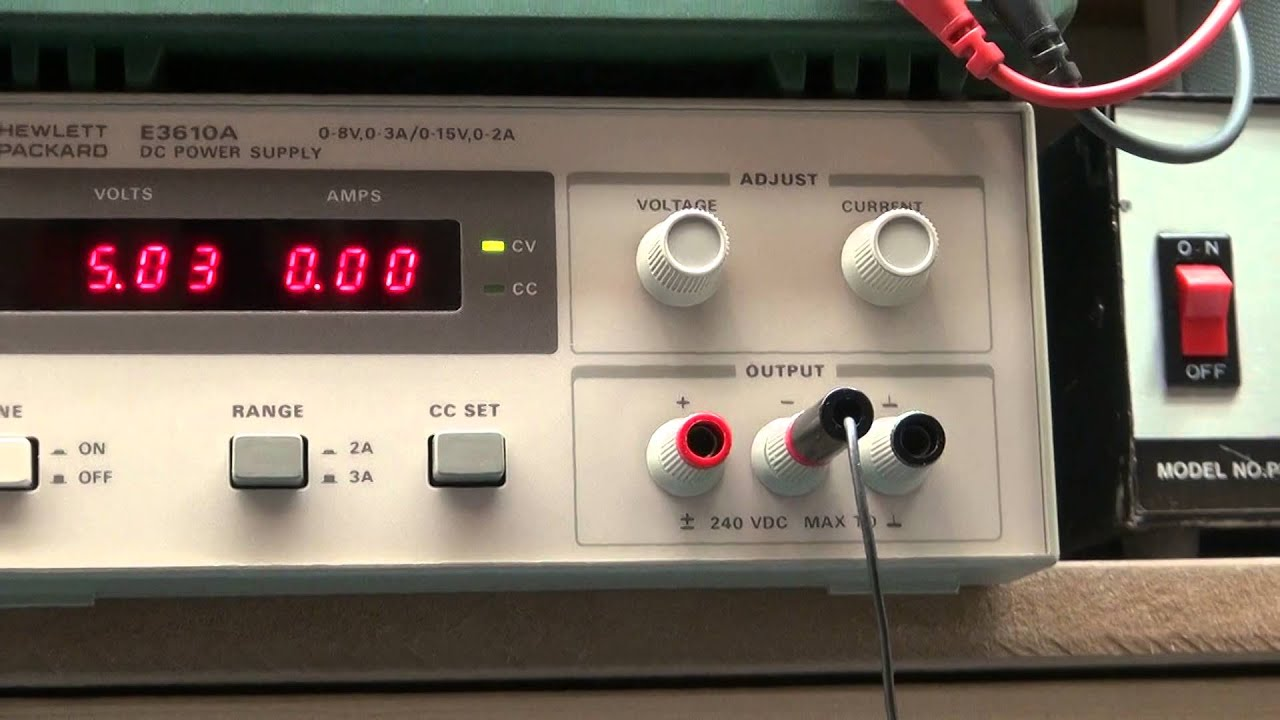 Electronics Test Equipment Supply : New old electronic test equipment hp a youtube