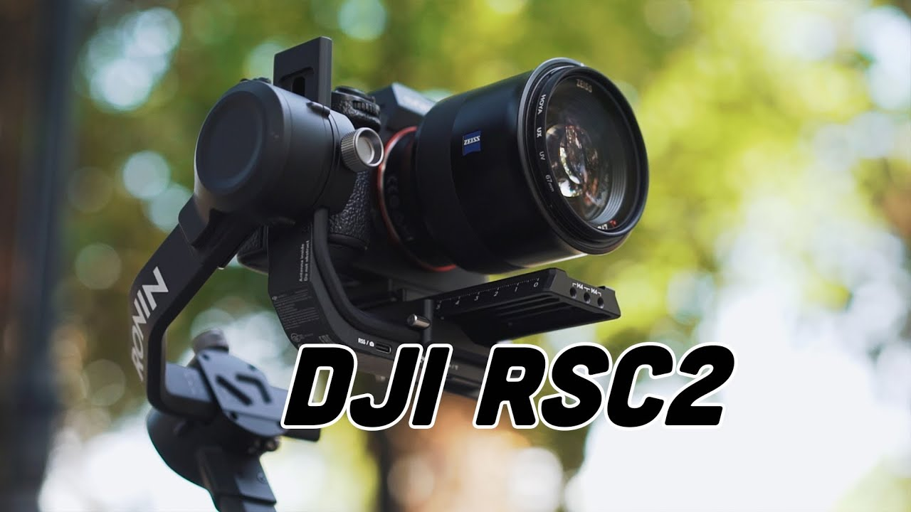 Gimbal DJI RSC2 // Test cinematic footage and review