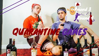 Poop the Potato & Ring Toss | Quarantine Games | Will and James