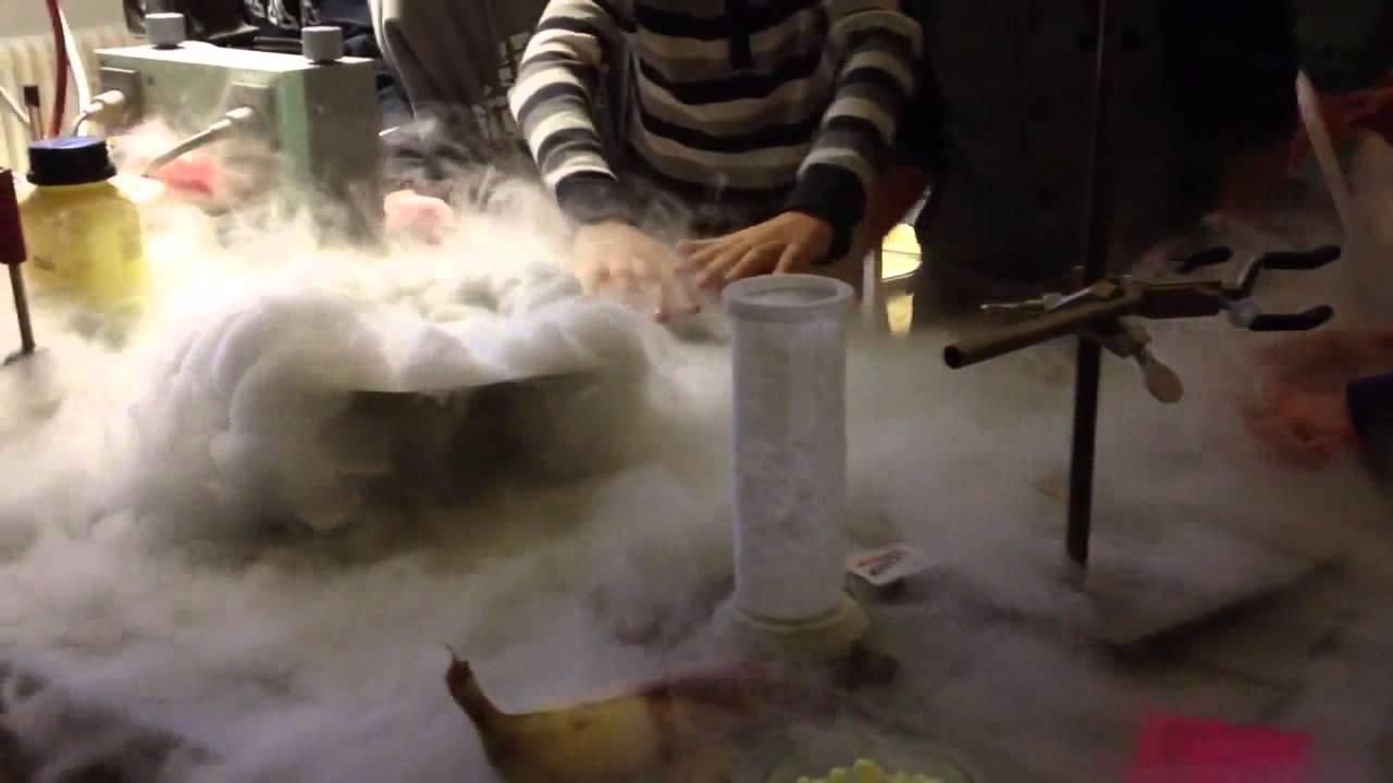 Flüssiger Stickstoff Temperatur