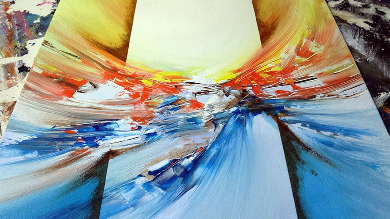 Abstract Painting / DEMO 49 / Abstract Art / Blending ...