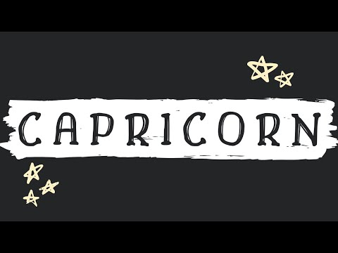 CAPRICORN | something that you don't expect (tarot reading)