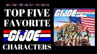 Best Gi Joe Characters