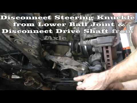 Part 1 (of 10) Remove Engine & Tranny - Rebuild 1994 Toyota Camry Engine & Transmission 5SFE & A140E