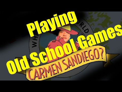 Old School Games - Where in the World is Carmen Sandiego