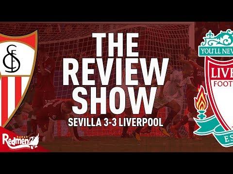 Sevilla v Liverpool 3-3 | The Review Show LIVE