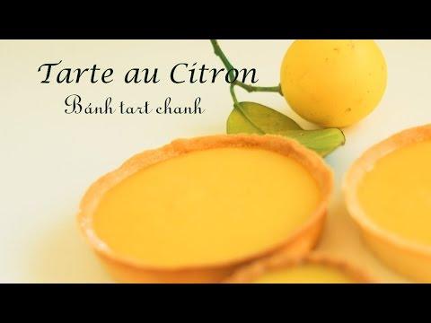 Tarte au citron - Lemon tart - Bánh tart chanh (French style)