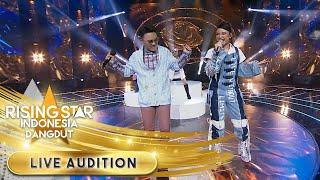[Pamer Bojo] Versi Tiara dan Danang Lebih Ngebeat   Live Audition   Rising Star Indonesia Dangdut