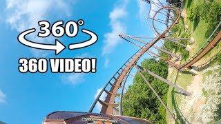 VR 360 Wildfire Roller Coaster Onride POV Silver Dollar City Branson MO