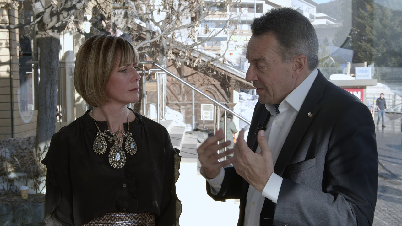 Hub Culture Davos 2020: Peter Maurer, President the International Red Cross (ICRC)