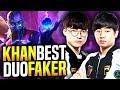 SKT T1 Khan Ryze Brutal Carry ft Faker Irelia! - How to Carry in Korea! | SKT T1 Replays