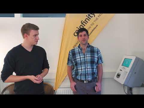Lightning Transaktion am Bitcoin-Automaten von Coinfinity