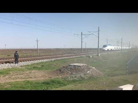 The afrosiab train. Tashkent-samarqand. Visit Uzbekistan