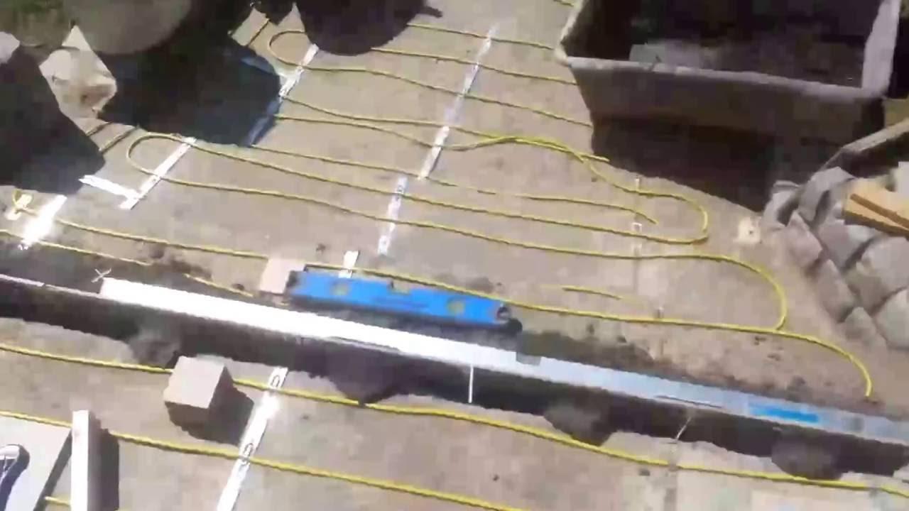 Hur man bygger utanför trappor med klinker ( film nummer 1.) - YouTube