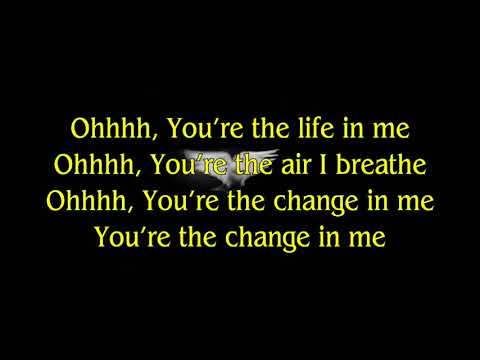 The Change In Me - Casting Crowns (Lyrics)