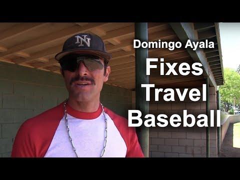 Domingo Ayala Fixes Travel Baseball