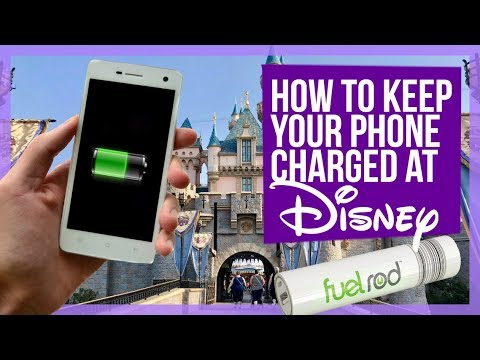 How to NEVER let your phone die at a Disney Park!