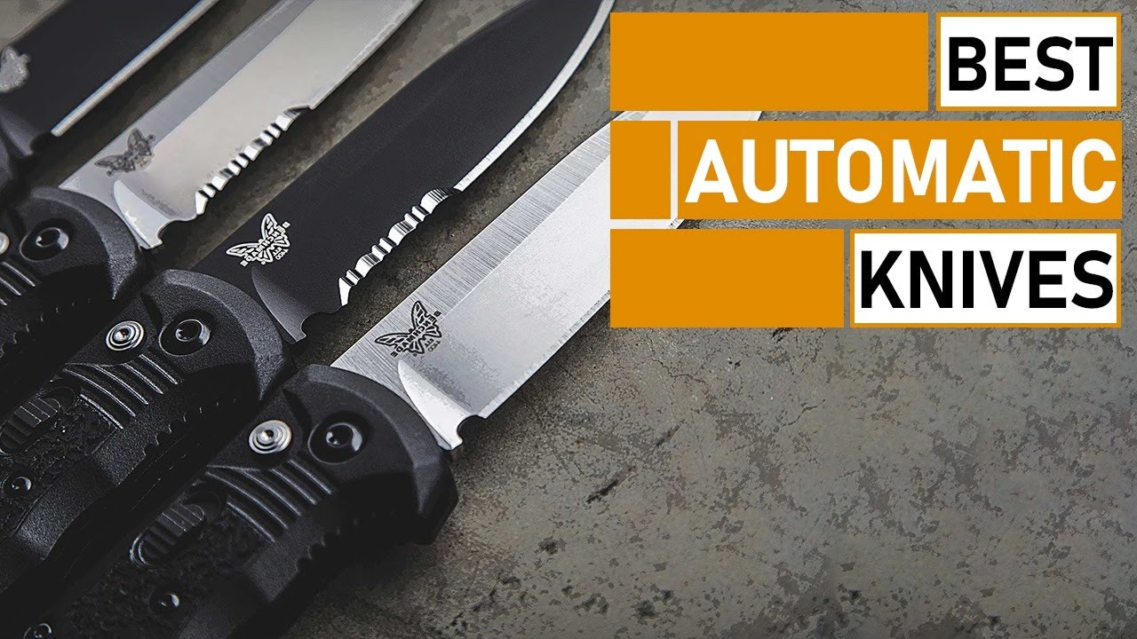 7 Best Automatic Knives for Survival & Tactical