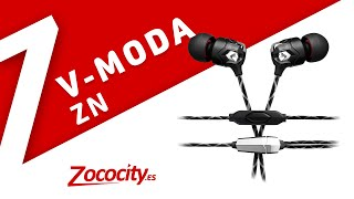 V-Moda Zn - Los auriculares in-ear INDESTRUCTIBLES