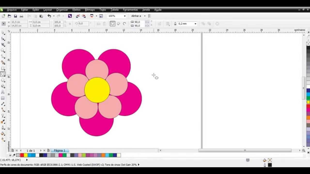 Flor 5 Petalas Youtube