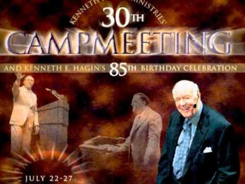 Kenneth Hagin - 2002 RHEMA Campmeeting (30th ) Kenneth E Hagin's 85th Birthday Day1