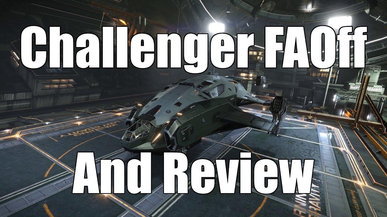 Elite: Dangerous - Alliance Challenger FAOff Landing
