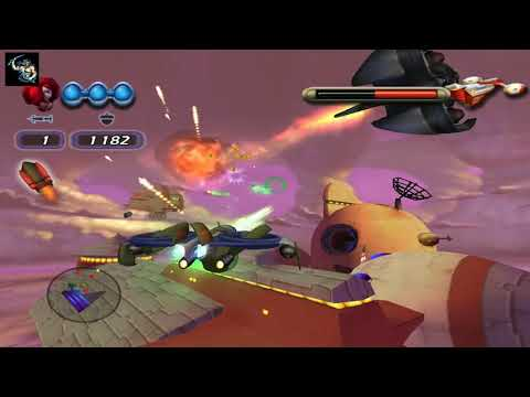 Disney's Chicken little ace in action Walkthrough Gameplay - Saturn -   Mission -1 Bug Zapper |