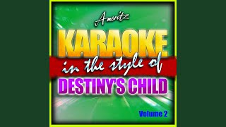 Sexy Daddy (In the Style of Destiny's Child) (Karaoke Version)
