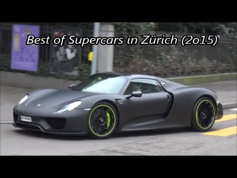 Best of Supercars in Zürich 2015!