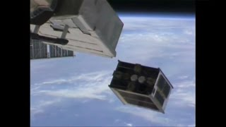 DIWATA-1 microsatellite deployed from ISS Kibo Module